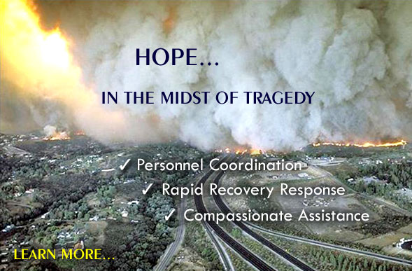 Hope in the midst of tragedy...